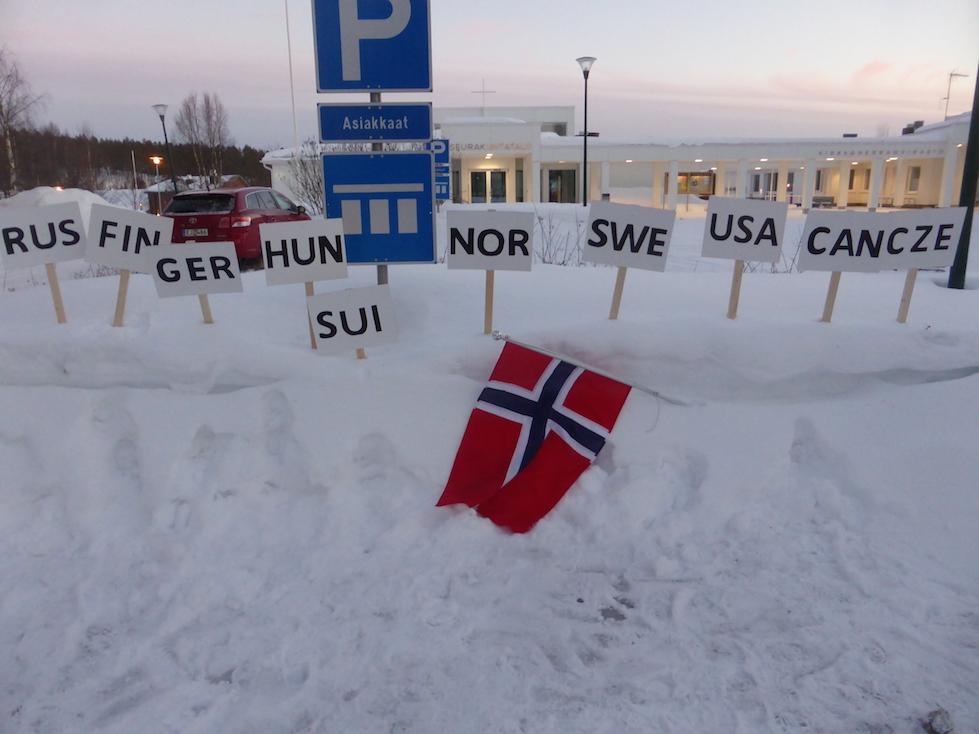Det var 11 nasjonar med på VM i Taivalkoski. Sveits og Sverige tok ein gull kvar. Tsjekkia tok 2 gull og Norge tok 3 gull. Dei andre gullmedaljane gjekk til Russland og Finnland.